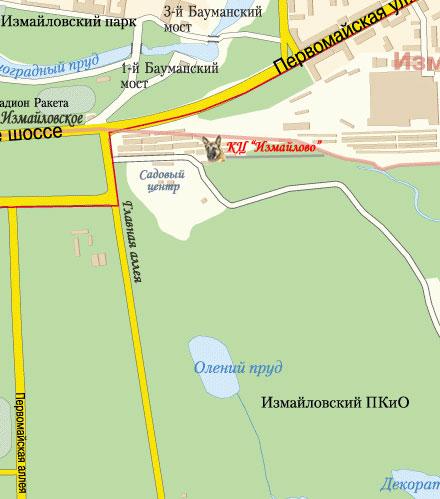 Москва, Измайловский парк